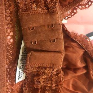 PINK Victoria's Secret Intimates & Sleepwear - 🧜🏾♀️PINK VS🧜🏾♀️Brown Orange Bralette